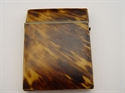 Picture of 1800s Calling Card Case Made of Tortoise Shell