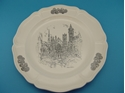 "Picture of Wedgwood Caroline Williams ""The Spires of Cincinnati"" Cincinnati Plate"