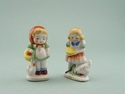 Picture of 2 Occupied Japan Girl Figurines