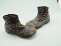 Picture of Pair Of Victorian (Circa1890s) Child's Button Up Shoes