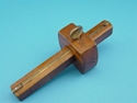 Picture of Vintage Unmarked Wood Marking Gauge Pat. date Oct. 22 1872.