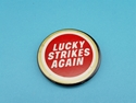 Picture of Vintage Lucky Strikes Cigarettes Pin Back Button