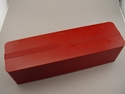 Picture of 1950s Red Molded Plastic Glove Box / Kitchen Cheese Box