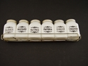 Picture of 1950s Set Of 6 Milk Glass Spice Jars