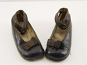 Picture of 1910s / 1920s Black Leather Girls (Toddlers Size) Shoes