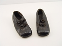 Picture of 1920s Toddler's Size Black Leather Button Shoes