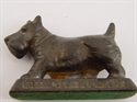 Picture of Vintage Cast Iron Scotty Dog Figure