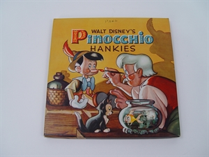 Picture of 1939 Embroidered Pinocchio Child's Hankies