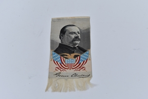 Picture of 1888 Grover Cleveland Campaign Ribbon