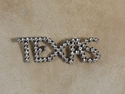 Picture of 1950s Vintage Rhinestone TEXAS Pin