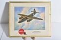 Picture of WWII B-26 Aircraft Coca Cola Cardboard Poster